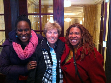 Ekene Oboki, Dagmar, Carolyn Butts