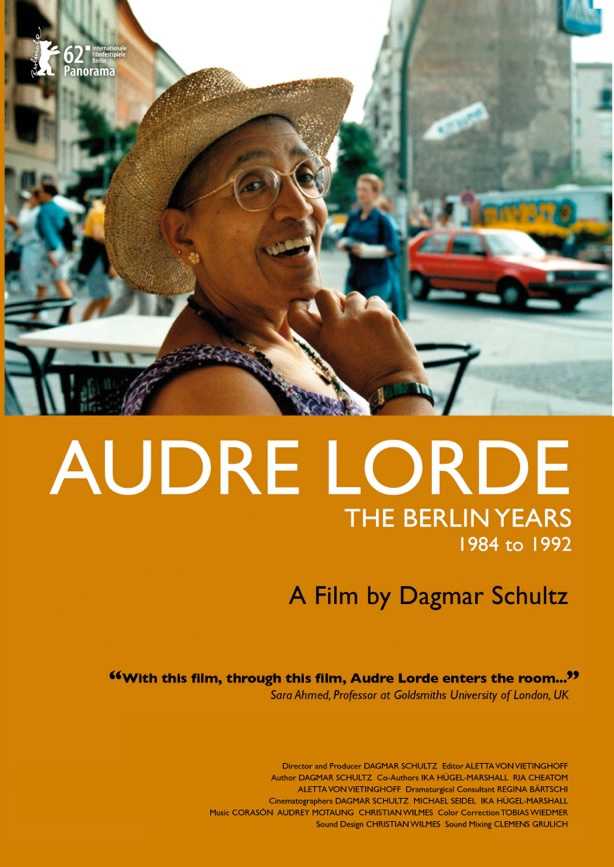 Audre Lorde - The Berlin Years 1984 -1992 DVD cover